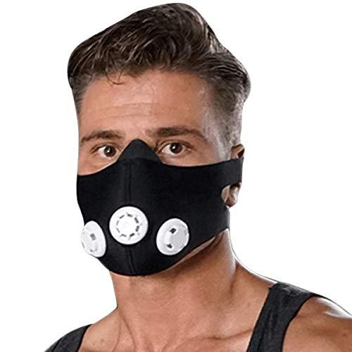 Matchu Sports – Trainingsmasker – Train je ademspieren en verhoog je sportieve prestaties – Elevation Mask…
