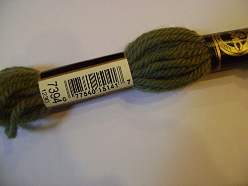 7394 Medium Green DMC Laine Colbert 100% Virgin Wool Tapestry Yarn Made in France