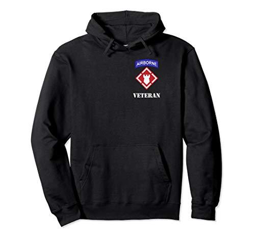 20th Engineer Brigade Shirt - 20th EN Airborne Veteran Wh -