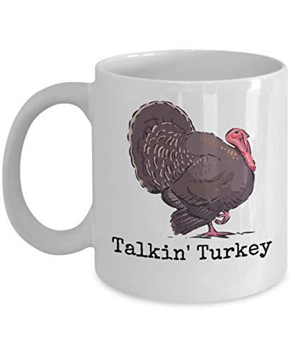 Talkin Turkey Mug Spring Hunting Gobbler Calling Gift Coffee Cup -