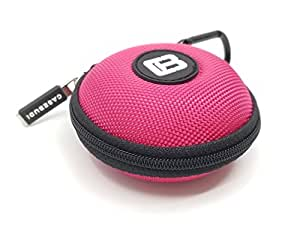 Amazon.com: CASEBUDi Pink - Small case for your Earbuds