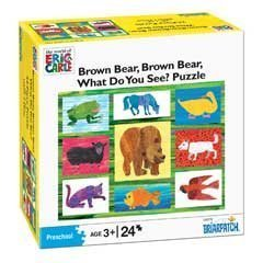 - The World of Eric Carle Brown Bear, Brown Bear, What Do You See? Puzzle