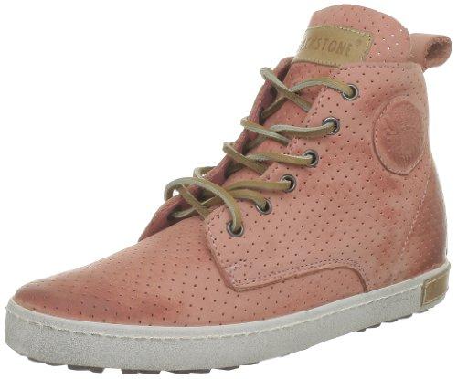 Blackstone PERFORATED HIGH FL62, Sneaker donna Rosa (Pink (Rosa Antico))