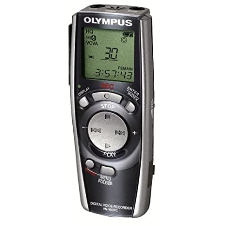 454c3e8b46f Amazon.com: Olympus VN-960PC 128 MB Digital Voice Recorder with PC Link:  Electronics