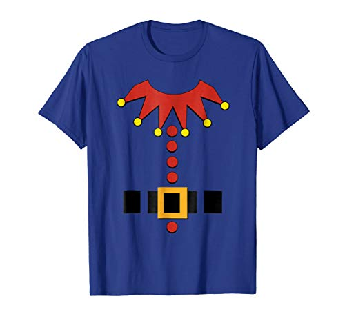 Christmas Elf Santa's Toy Maker Outfit Costume T-Shirt