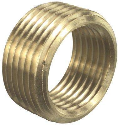 NATIONAL BRAND ALTERNATIVE GIDS-111-8-6 Brass Face Bushing, 1/2