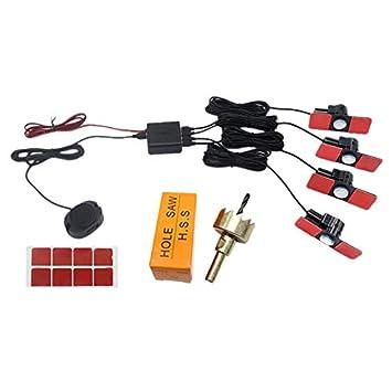 SODIAL Sensores De Aparcamiento Sensores Planos Copia De ...