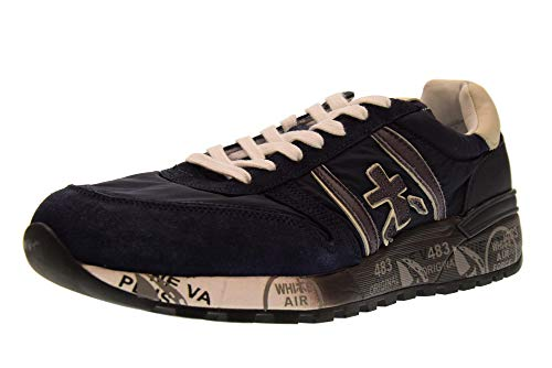 Bleu Lander Baskets Chaussures Homme Basses 3247 PREMIATA HYgzwqc
