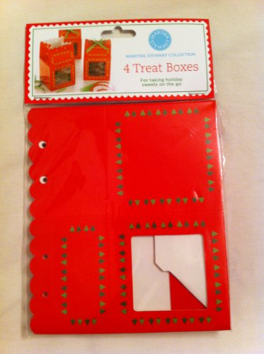 Martha Stewart Treat Boxes (Martha Stewart Holiday Decorating)