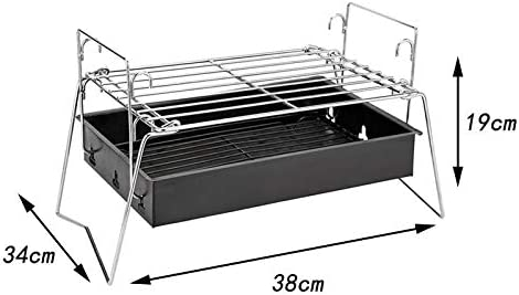 Taota Barbecue à charbon pliable portable