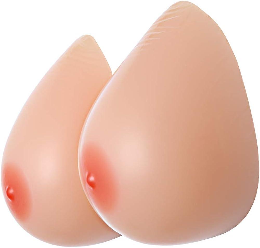 IVITA Silicona Formas de mama Para Travestis Mastectomía Prótesis Transgender Cosplay Breast Forms