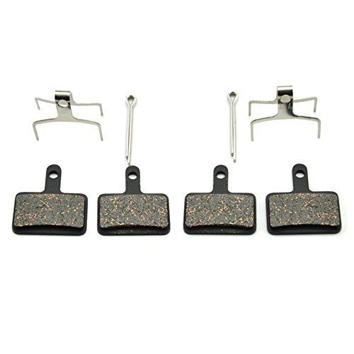 Bike Disc Brake Pads for Shimano DS-01S M355 M395 M446 M485 M495 Replacement Pads for Tektro Orion Gemini Auriga Draco Made Of Kevlar Fiber and Copper Stronger Braking Power Less ()