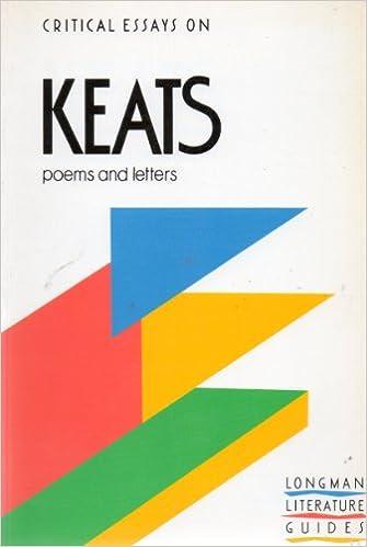 critical essays on john keats hermione de almeida Critical essays on john keats studies in romanticism: special issue hermione de almeida's shorter publications include essays and reviews on figures like.