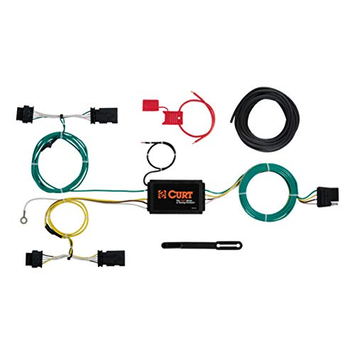 CURT 56274 Vehicle-Side Custom 4-Pin Trailer Wiring Harness for Select Jeep Renegade ()