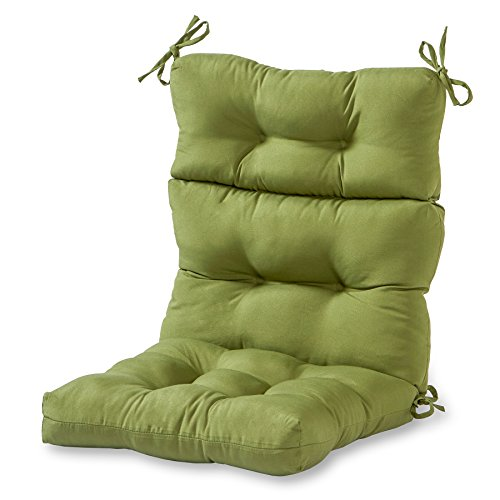 Greendale Home Fashions Indoor/Outdoor High Back Chair Cushion, Summerside Hunter ()
