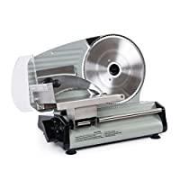 "ARKSEN© Electric Commercial Deli Meat Slicer, Stainless Steel (7.5"" 180w / 10"" 240w)"