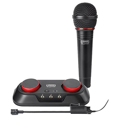 Creative Sound Blaster R3 USB Audio Recording and Streaming Kit (includes microphone) 70SB154000000