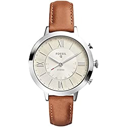 Fossil Hybrid Smartwatch - Q Jacqueline Luggage Leather FTW5012