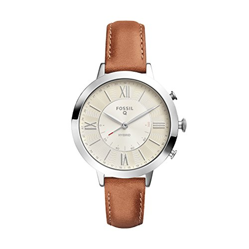 Fossil Hybrid Smartwatch - Q Jacqueline Luggage Leather FTW5012 by Fossil
