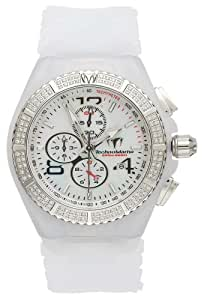 TechnoMarine Men's 108029 Cruise Magnum Diamond Chrono White Watch