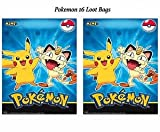 Pokemon Pikachu Friends Loot Treat Favor Bags Birthday Review and Comparison