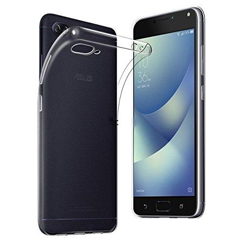 Capa Flexível + Película de Vidro Asus Zenfone 4 Max ZC554KL - Transparente