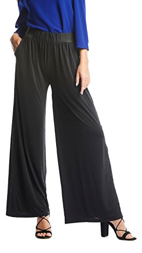 Palazzo Pants with Pockets in Several Colors and Printed Designs by Conceited