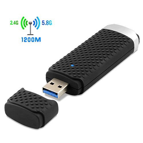 1200Mbps-Wireless-USB-WiFi-Adapter-Dual-Band-24G300Mbps58G867Mbps-WiFi-Dongle-Complies-with-80211-bgnac-Standard-Supports-Windows-Mac-OS-X-System