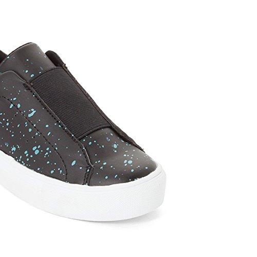 La Redoute Collections Jungen Sneakers mit Dehneinsatz Gr. 2635 Gre 26 Schwarz