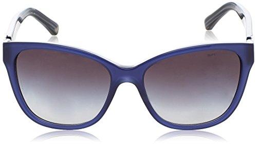 Emporio Armani, Montures de Lunettes Mixte Multicolore (Blue/grey 55188g)