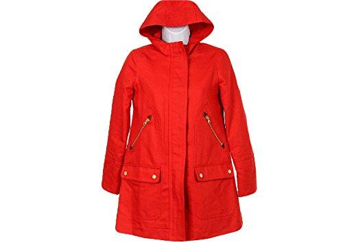 J Crew Petite Chateau Trench Coat Size P0 Style# E9080 Fiery Sunset (Crew Petite Coat)
