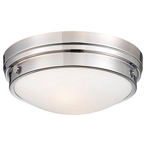 Minka Lavery Flush Mount Ceiling Light Round 823-77 2LT 120 watt (5