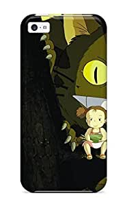 3289489K99156030 Tpu Shockproof/dirt-proof My Neighbor Totoro Cover Case For Iphone(5c)