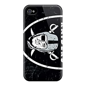 New Snap-on CassidyMunro Skin Cases Covers Compatible With Iphone 6plus- Oakland Raiders