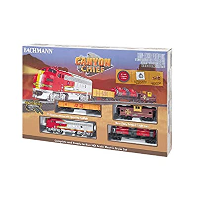 Bachmann Trains - Canyon Chief Ready To Run Electric Train Set - HO Scale: Toys & Games