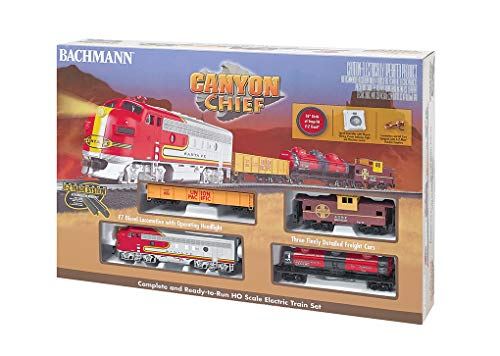 Used, Bachmann Canyon Chief Ready to Run Electric Train Set for sale  Delivered anywhere in USA