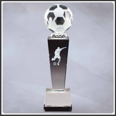 Male Soccer Sports Crystal 8.75
