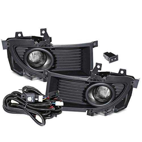 Fit 2004-2005 Mitsubishi Lancer (Ralliart models only) Front Bumper Fog Lights Clear Includes Bulbs Wiring Harness and Switch (2004 Ralliart Lancer Mitsubishi)