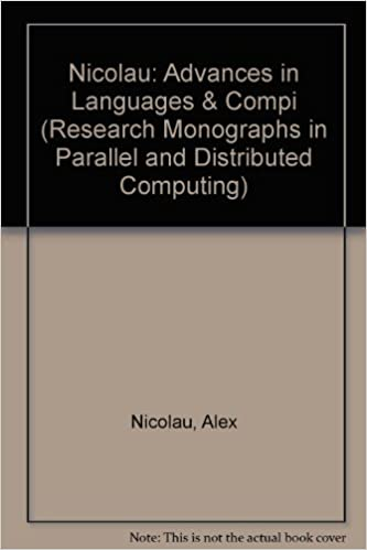 Advances in Languages and Compilers for Parallel Processing