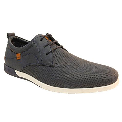 Arider Mens Casual Tennis Fashion Sneaker Navy 9.5