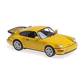 Maxichamps 1:43 1990 Porsche 911 Turbo (964) - Yellow - 940069104