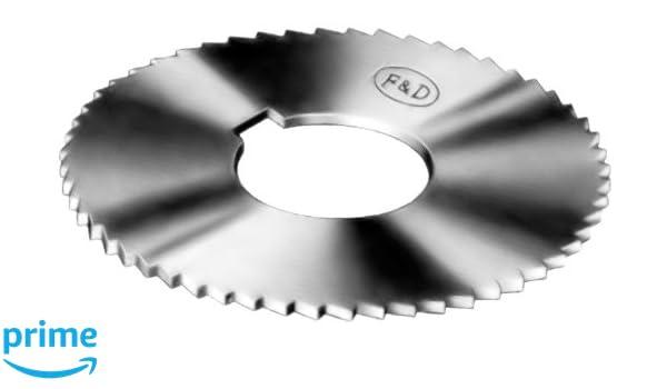 Slitting and Slotti... 1 Inch Cutter Hole Diam Made in USA 3//4 Inch Shank Diam