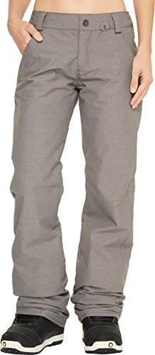 - Volcom Junior's Frochickie Insulated 2 Layer Shell Snow Pant, Charcoal, Extra Large