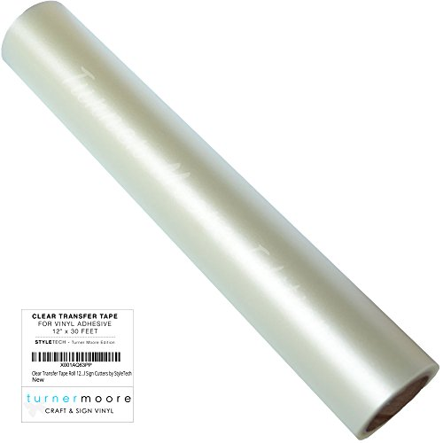 Clear Transfer Tape Roll 12