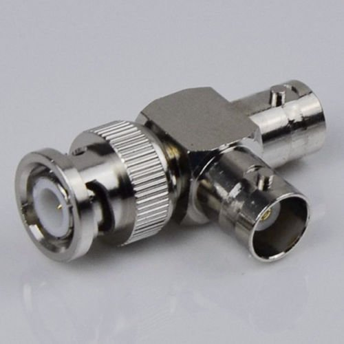 - Generic O-8-O-2449-O ter ada Female T Shaped ped Spl To BNC Double emale T 10 Pcs BNC BNC Dou Splitter adapter ality M Male HX-US5-16Mar28-1146