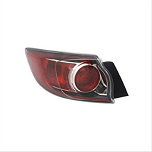 Partslink MA2800147 OE Replacement Tail Light Assembly MAZDA MAZDA 3 2012-2013 Multiple Manufacturers MA2800147N