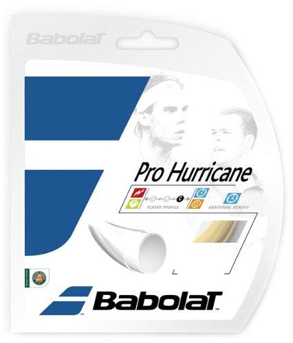 Babolat 241104 Mens Pro Hurricane Racket String, Natural – 16