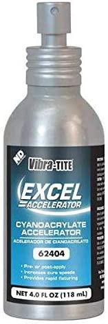 Vibra-Tite Accelerator, 4 oz. Can, Isopropanol-Based, (Pack of 5)