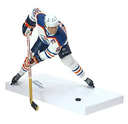buy popular b8349 8ffe5 NHL Legends Series 1 Figure: Wayne Gretzky with White Oilers Jersey