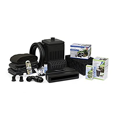 Aquascape Complete Waterfall Kit with 6 Feet Stream | AquaSurgePRO 2000-4000 Water Pump